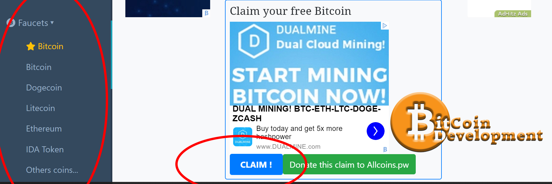 Allcoins.pw Claim